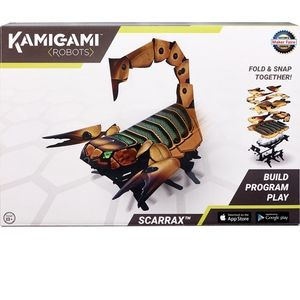 Kamigami robots scarrax new in box toy